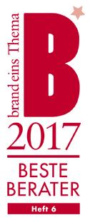 Siegel Beste Berater 2017